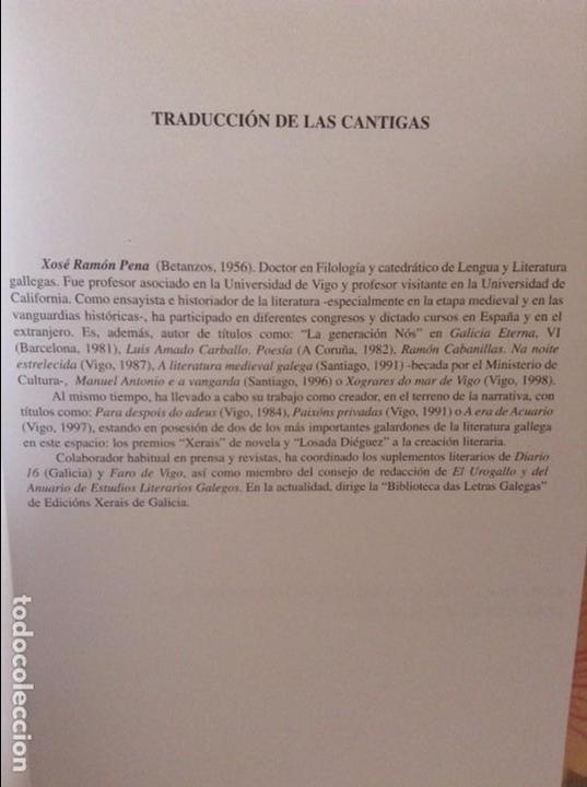 Libros de segunda mano: CANTIGAS. DE EL PUERTO DE SANTA MARIA, DE ALFONSO X EL SABIO (AYUNTAMIENTO PUERTO DE SANTA MARIA) - Foto 5 - 98464959