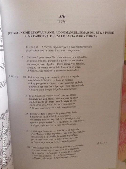 Libros de segunda mano: CANTIGAS. DE EL PUERTO DE SANTA MARIA, DE ALFONSO X EL SABIO (AYUNTAMIENTO PUERTO DE SANTA MARIA) - Foto 7 - 98464959
