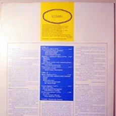 Libros de segunda mano: ÈCZEMA 10 - DISC: LLORENÇ BALSACH - MARÇ 1980. Lote 99327771