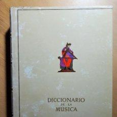 Libros de segunda mano: DICCIONARIO DE LA MÚSICA HISTÓRICO Y TÉCNICO BRENET, MICHEL. . Lote 99736903
