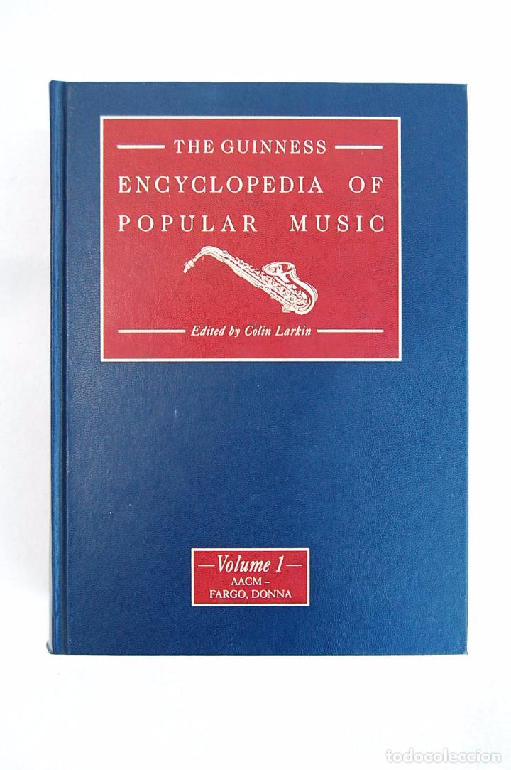 Libros de segunda mano: THE GUINNESS ENCYCLOPEDIA OF POPULAR MUSIC – ED. COLIN LARKIN (4 TOMOS) - Foto 4 - 102535951