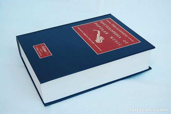 Libros de segunda mano: THE GUINNESS ENCYCLOPEDIA OF POPULAR MUSIC – ED. COLIN LARKIN (4 TOMOS) - Foto 6 - 102535951