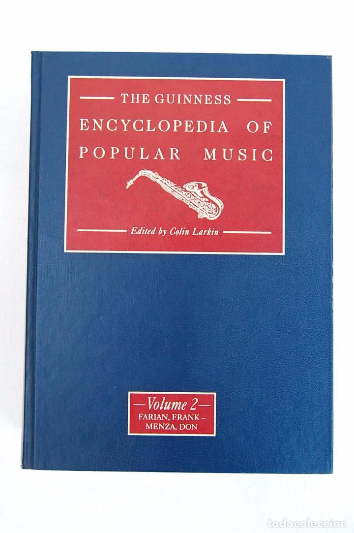Libros de segunda mano: THE GUINNESS ENCYCLOPEDIA OF POPULAR MUSIC – ED. COLIN LARKIN (4 TOMOS) - Foto 9 - 102535951