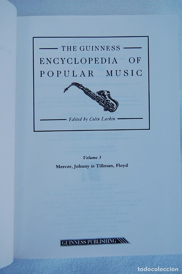 Libros de segunda mano: THE GUINNESS ENCYCLOPEDIA OF POPULAR MUSIC – ED. COLIN LARKIN (4 TOMOS) - Foto 16 - 102535951