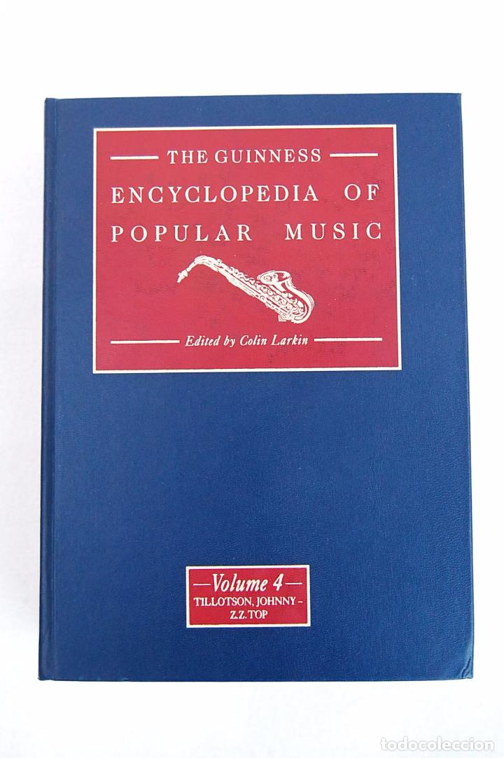 Libros de segunda mano: THE GUINNESS ENCYCLOPEDIA OF POPULAR MUSIC – ED. COLIN LARKIN (4 TOMOS) - Foto 17 - 102535951