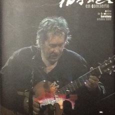 Livros em segunda mão: PACO IBAÑEZ EN CONCIERTO INCLUYE DVD. PALAU DE LA MÚSICA BARCELONA 2002. 1ª EDICIÓN TAPA DURA. Lote 103580199