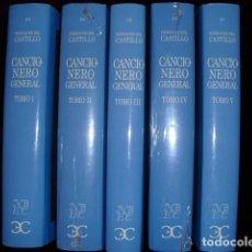 Libros de segunda mano: CANCIONERO GENERAL,HERNANDO DEL CASTILLO,2004,EDIC.J.GONZALEZ CUENCA. 5 VOL.EDIT.CASTALIA.. Lote 103770683