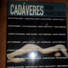 Libros de segunda mano: CADÁVERES BIEN PARECIDOS, JORDI SIERRA I FABRA, JORDI BIANCIOTTO, ED. LA MÁSCARA. Lote 104121595