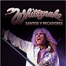 Libros de segunda mano: WHITESNAKE - SANTOS Y PECADORES -LIBRO -DEEP PURPLE - METAL. Lote 120002056