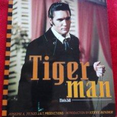 Libros de segunda mano: ELVIS PRESLEY TIGER MAN -COMEBACK 68 ESPECIAL- ELVIS PHOTOBOOK SUPER RARE 1997. Lote 107879795