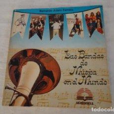 Libros de segunda mano: LAS BANDAS DE MÚSICA EN EL MUNDO. Lote 143649122