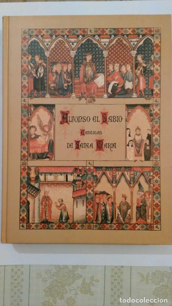 CANTIGAS DE SANTA MARIA. VOLUMEN III. FACSIMIL. 33 X 25 CM. NUEVO (Libros de Segunda Mano - Bellas artes, ocio y coleccionismo - Música)