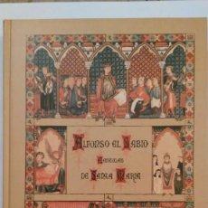 Libros de segunda mano: CANTIGAS DE SANTA MARIA. VOLUMEN III. FACSIMIL. 33 X 25 CM. NUEVO. Lote 139488048