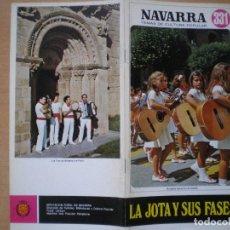 Libros de segunda mano: NAVARRA. TEMAS DE CULTURA POPULAR Nº 331. LA JOTA Y SUS FASES.. Lote 109094323