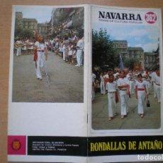Libros de segunda mano: NAVARRA. TEMAS DE CULTURA POPULAR Nº 362. RONDALLAS DE ANTAÑO.. Lote 109097371
