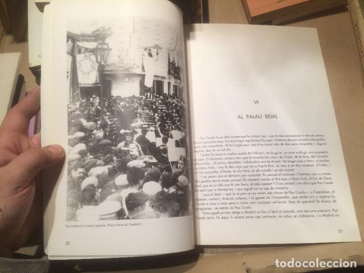Libros de segunda mano: Antiguo libro l'extraudinària vida de Pau Casals por Joan Alavedra año 1989 - Foto 4 - 110130687