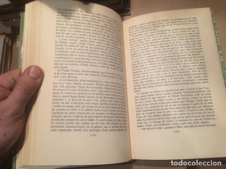 Libros de segunda mano: Antiguo libro Pau Casals por Joan Alavedra año 1962 - Foto 2 - 110133227
