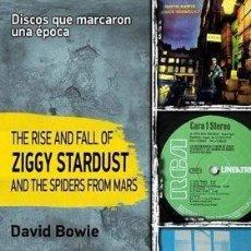 Libros de segunda mano: DAVID BOWIE -THE RISE AND FALL OF ZIGGY STARDUST -LIBRO EN CASTGELLANO 176 PAGINAS -NUEVO. Lote 110464879