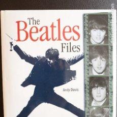 Libros de segunda mano: THE BEATLES FILES. Lote 112101755