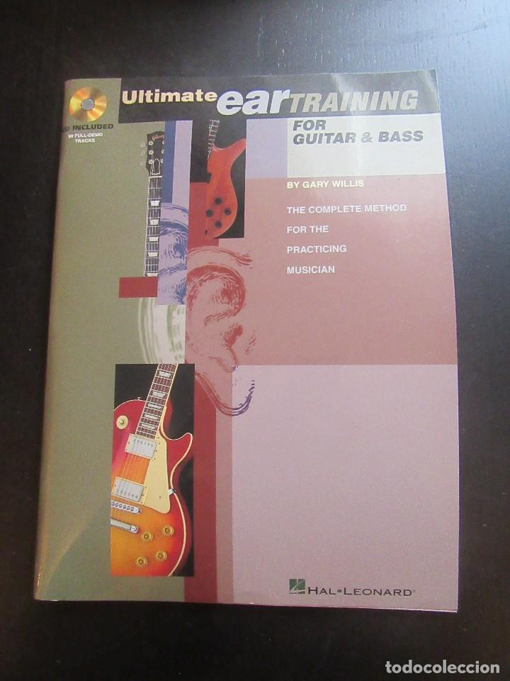 Ultimate Ear Training For Guitar And Bass (Inglés) - Gary willis. segunda mano