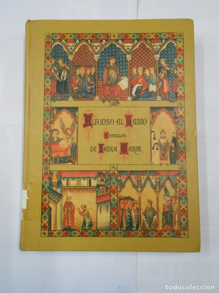 Libros de segunda mano: ALFONSO X EL SABIO. CÁNTIGAS DE SANTA MARÍA. 3 TOMOS. VOLUMEN I, II Y III. Arm21 - Foto 3 - 112648127
