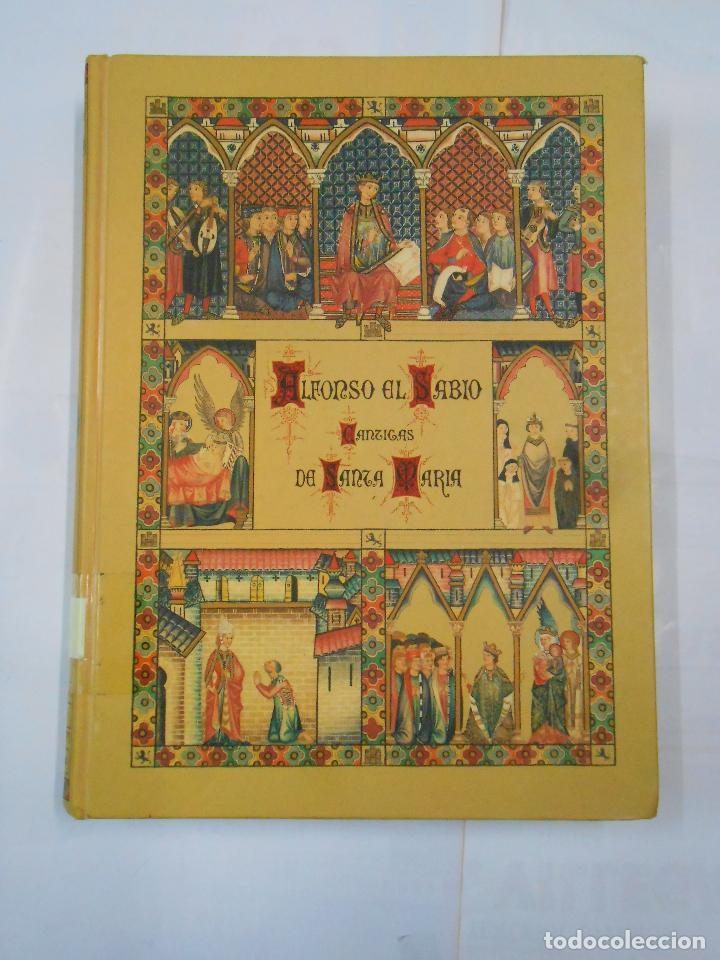 Libros de segunda mano: ALFONSO X EL SABIO. CÁNTIGAS DE SANTA MARÍA. 3 TOMOS. VOLUMEN I, II Y III. Arm21 - Foto 5 - 112648127