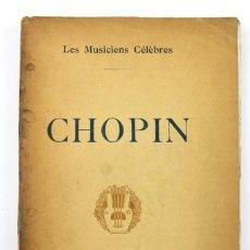 Libros de segunda mano: L-2419. LES MUSICIENS CELEBRES, ELIE POIREE . M. LAURENS, EDITEUR. PARIS. AÑOS VEINTE. EN FRANCÉS. Lote 113770151