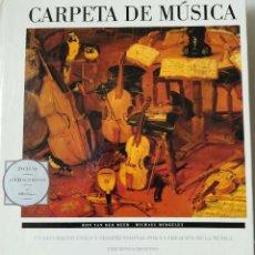 Libros de segunda mano: CARPETA DE MUSICA. Lote 114960183