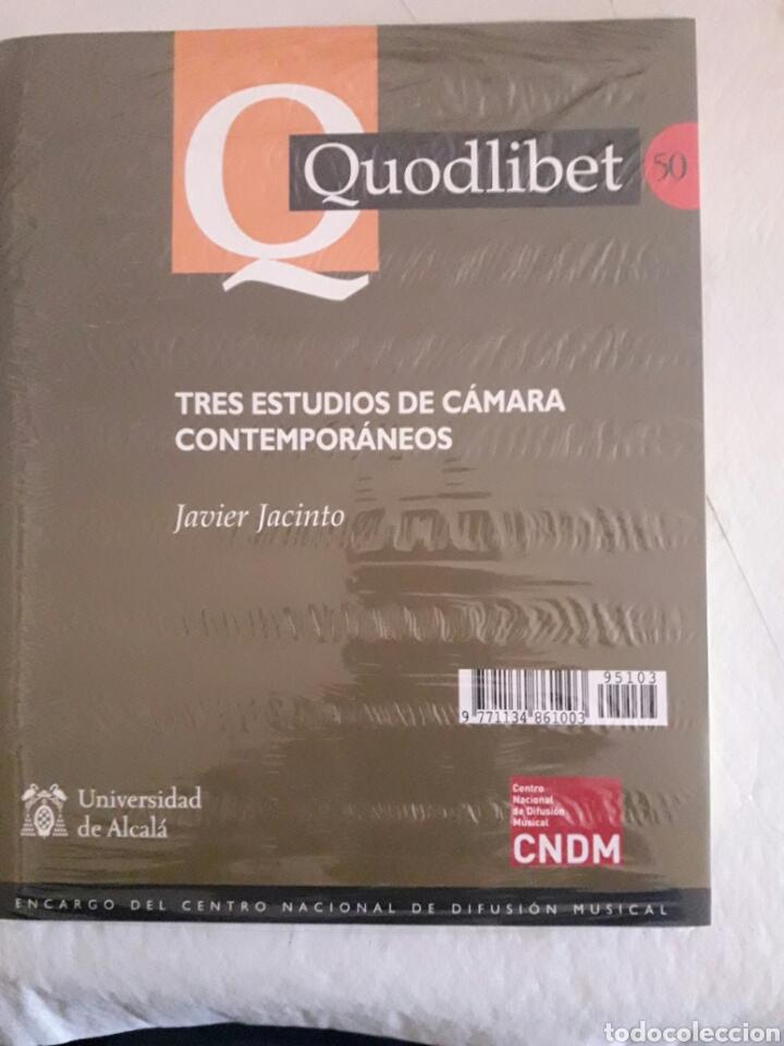 Libros de segunda mano: Quodlibet. Revista de especialización musical. N°50. Mayo-agosto 2011. Universidad de Alcalá. - Foto 2 - 115853502