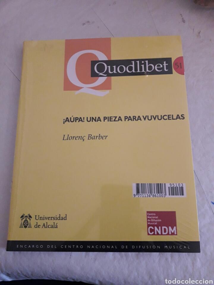 Libros de segunda mano: Quodlibet. Revista de especialización musical. N°51. Septiembre-diciemb 2011. Universidad de Alcalá. - Foto 2 - 115854435
