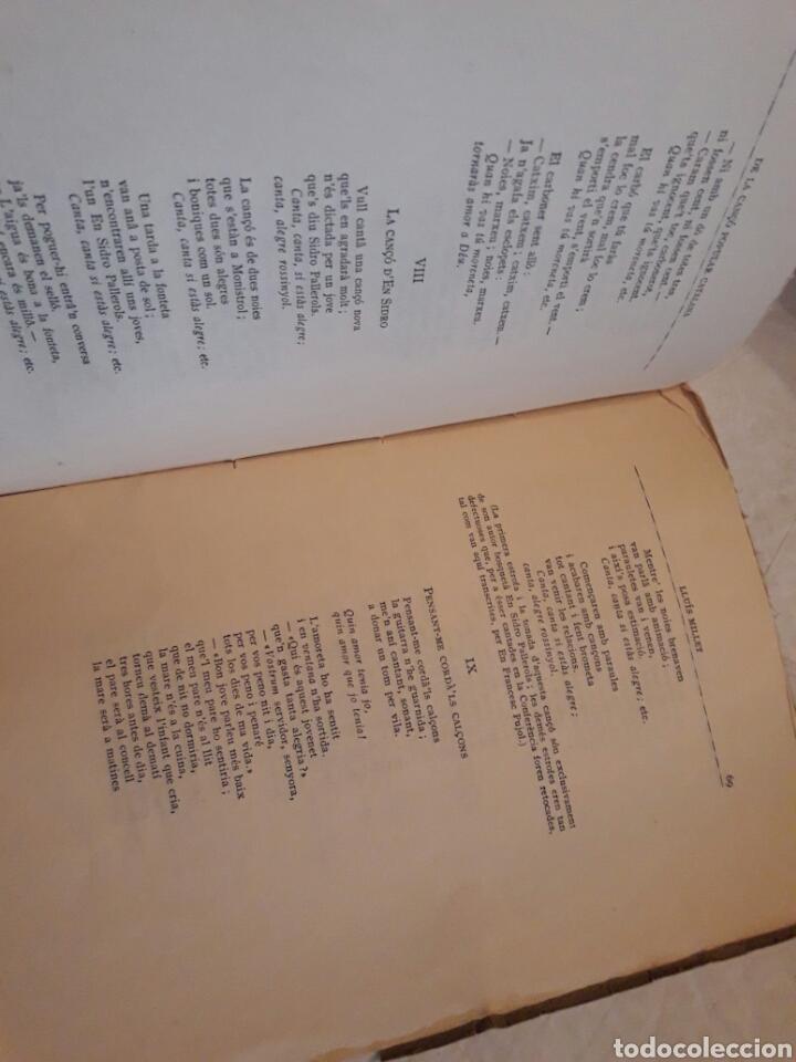 Libros de segunda mano: De la Cançó popular catalana. Lluis Millet. 1917. - Foto 4 - 116094326