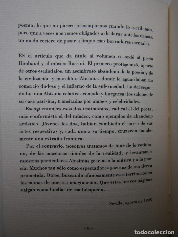 Libros de segunda mano: LA OTRA ABISINIA Juan Lamillar 1999 Edicion 500 ejemplares - Foto 11 - 117673435