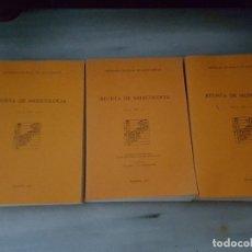 Libros de segunda mano - REVISTA DE MUSICOLOGÍA. 1987. VOLUMEN I, II Y III. - 119089919