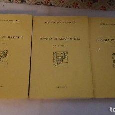 Libros de segunda mano - REVISTA DE MUSICOLOGÍA. 1990. VOLUMEN I, II Y III. - 119090407