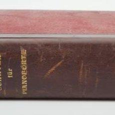 Libros de segunda mano: SONATEN FÜR PIANOFORTE. LUDWIG VAN BEETHOVEN. S/F.. Lote 120532959