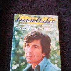 Libros de segunda mano: LEONARD COHEN. ALBERTO MANZANO 1978. Lote 121959603