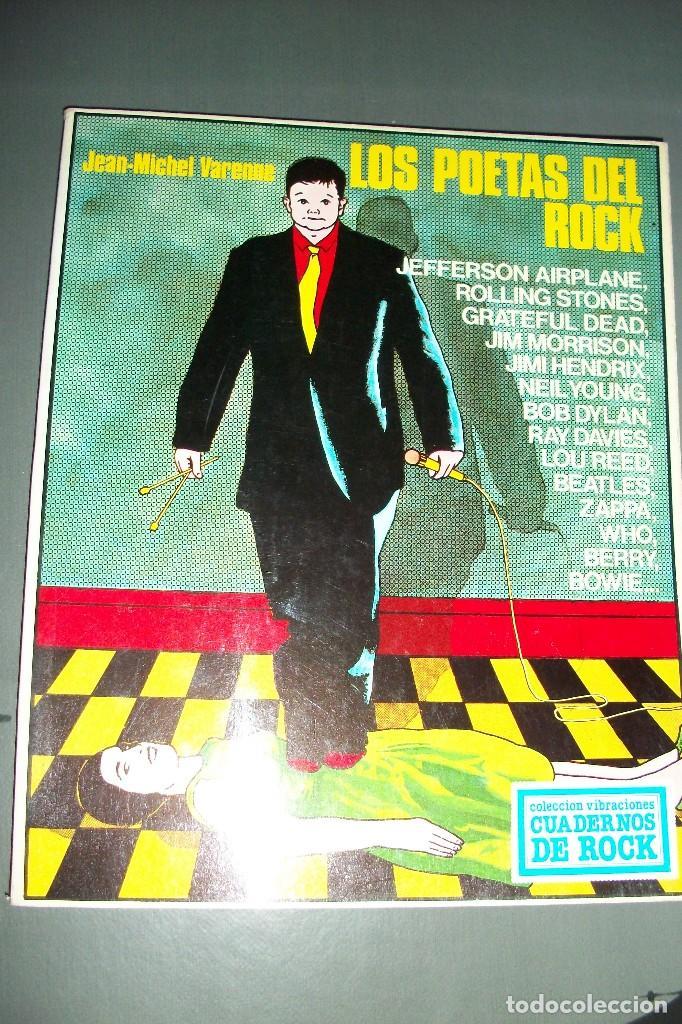LOS POETAS DEL ROCK - JEAN MICHAEL VARENNE (Libros de Segunda Mano - Bellas artes, ocio y coleccionismo - Música)