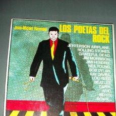 Libros de segunda mano: LOS POETAS DEL ROCK - JEAN MICHAEL VARENNE. Lote 174945439