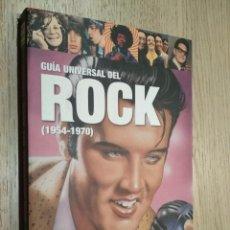 Libros de segunda mano: GUÍA UNIVERSAL DEL ROCK (1954 -1970) - BIANCIOTTO, JORDI. Lote 125481767