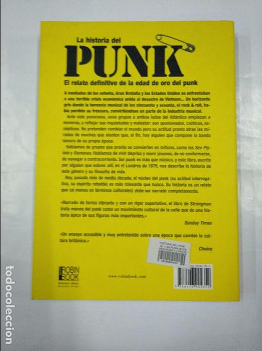 Libros de segunda mano: HISTORIA DEL PUNK. - STRONGMAN, PHIL. TDK346 - Foto 2 - 127743167