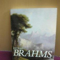 Libros de segunda mano: BRAHMS. JOSE BRUYR. SOLFEGES / SEUIL. (EN FRANCES) . Lote 128459699