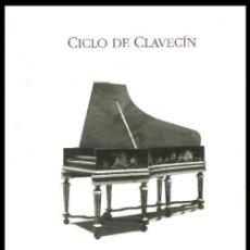 Libros de segunda mano: B1089 - CICLO DE CLAVECIN. ESTUDIOS CRITICOS Y NOTAS A LOS CONCIERTOS. BARRIE DE LA MAZA. CORUÑA.. Lote 128723263