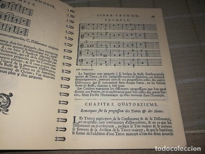 Libros de segunda mano: Libro traite de lharmonie de 1722 edición facsímil arte tripharia miren fotos - Foto 5 - 128923359
