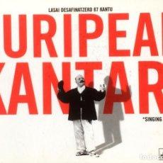 Livres d'occasion: EURIPEAN KANTARI. LASAI DESAFINATZEKO 87 KANTU.. Lote 129330727