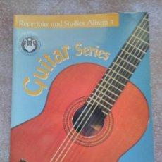 Libros de segunda mano: GUITAR SERIES REPERTOIRE AND STUDIES ALBUM 1. Lote 129174907