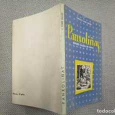 Libros de segunda mano: GALICIA - PANXOLIÑAS - CIPRIANO TORRE ENCISO - NADAL GALEGO EDI DEL AUTOR 1957 60PAG ILUSTRADO + INF. Lote 132014210