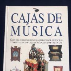 Libros de segunda mano: LIBRO DE CAJAS DE MÚSICA. Lote 133524462