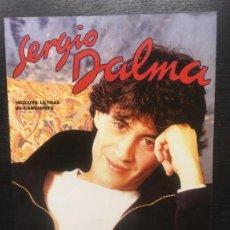 Libros de segunda mano: SERGIO DALMA, JORDI CLAPES. Lote 133841382