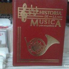 Libros de segunda mano - la historia de la musica y sus compositores,5 tomos - 134582458