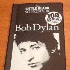 Libros de segunda mano: BOB DYLAN. THE LITLE BLACK SONGBOOK. 100 SONGS. ENGLISH. Lote 134715974